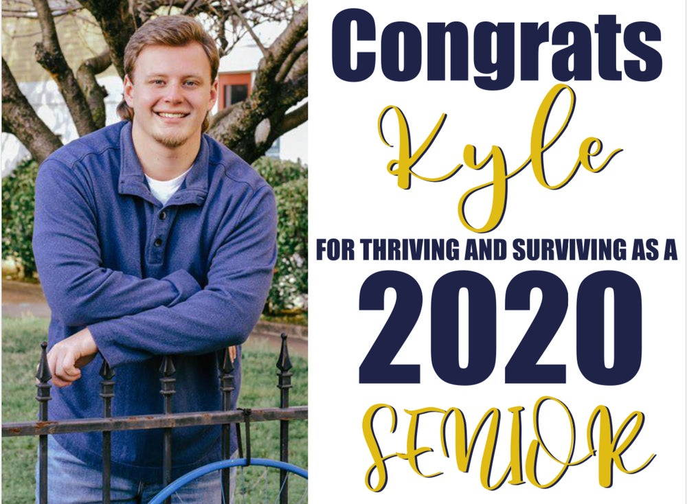 Image of Senior Package - Yard Sign and Tshirt Combo