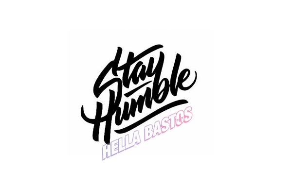 Image of Stay Humble Bargain Decal