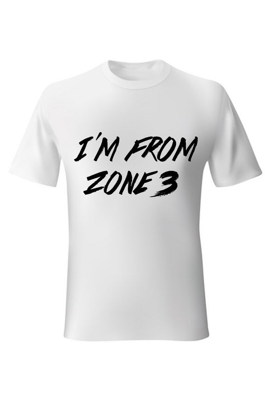 Image of Zone 3 Shirt - White