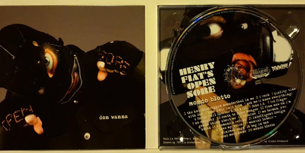 Henry Fiat's Open Sore – Mondo Blotto