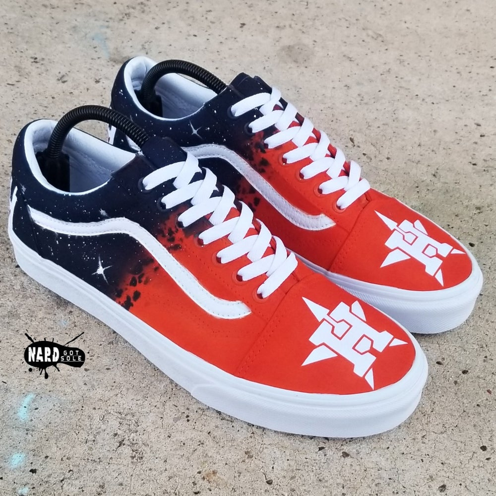 Image of Faded Astros Vans