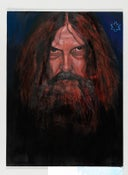 Image of Alan Moore Portrait 1 Print - signed by Alan Moore