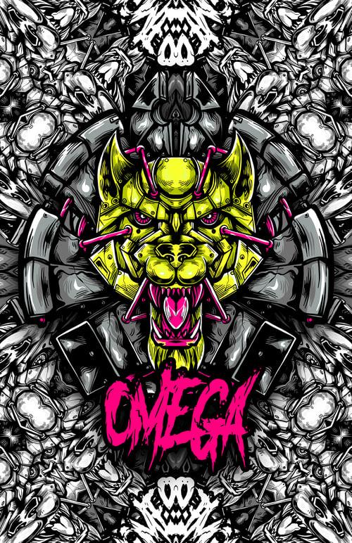 Image of Omega 11X17 Print