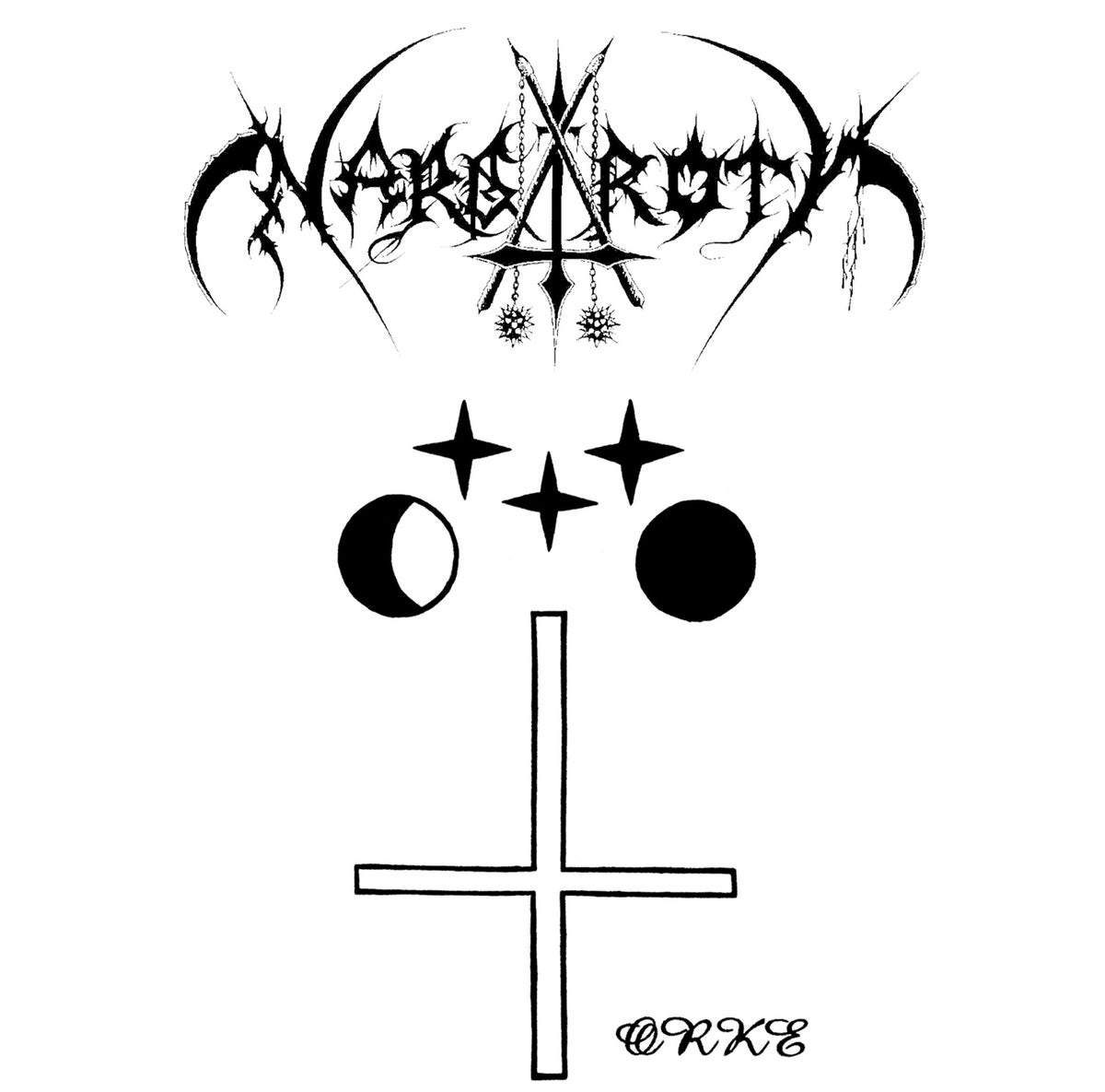 NARGAROTH -Orke / Fuck Off Nowadays Black Metal- 2-CD