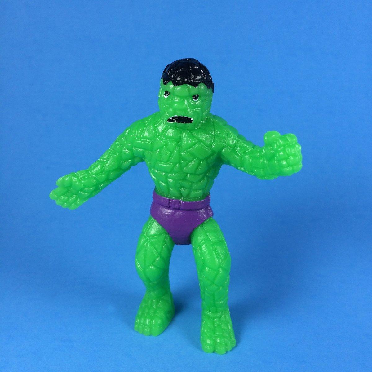 Image of The Hulk Thing bootleg art toy