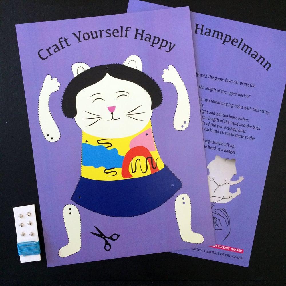 Cat Hampelmann DIY Kit