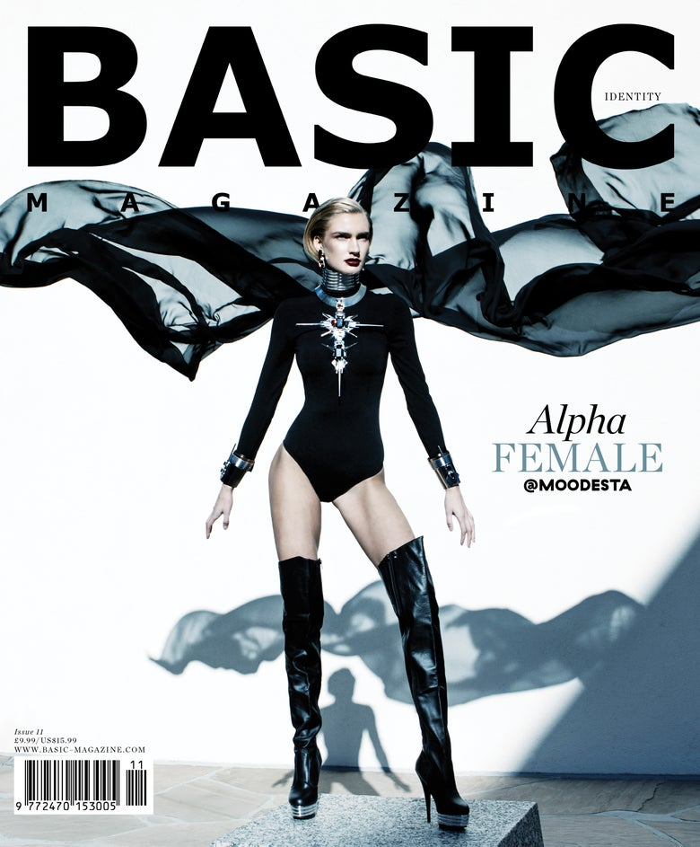 Image of BASIC  ALPHA FEMALE Cover || IDENTITY Issue 11