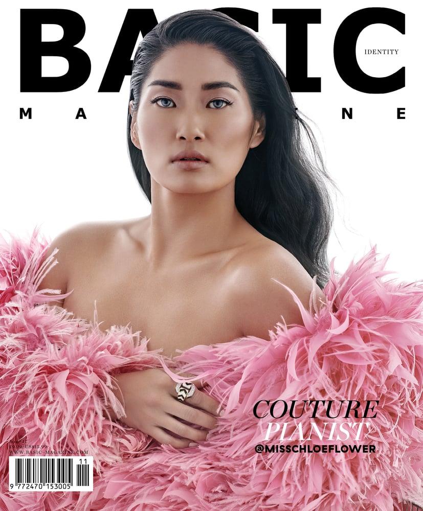 Image of BASIC  CHLOE FLOWER  Cover    IDENTITY Issue 11