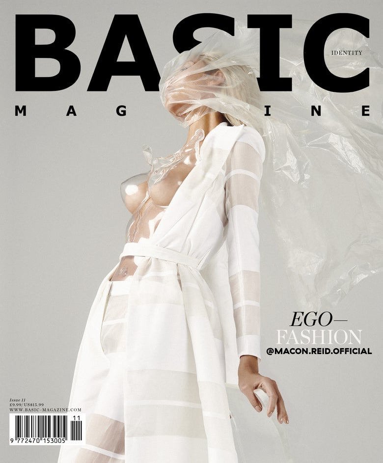 Image of BASIC  EGO-FASHION Cover || IDENTITY Issue 11