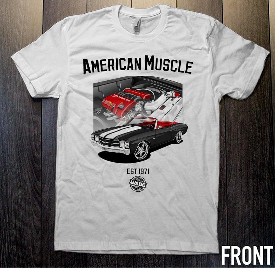 Image of Modern American Muscle Tee