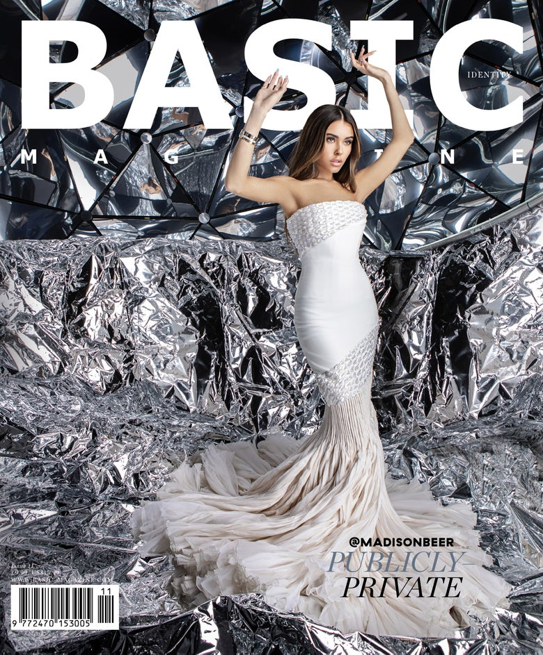 Image of BASIC  MADISON BEER Cover || IDENTITY Issue 11