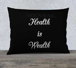 Image of Wealthy Mentality Pillow Case