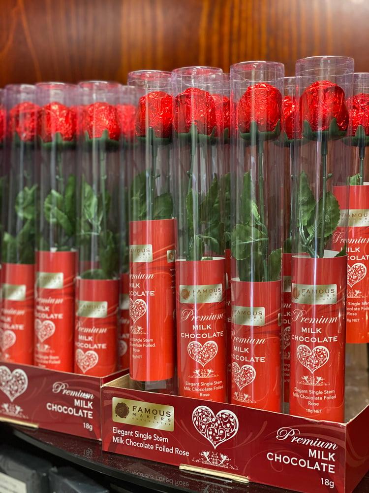 Image of Premium Milk Chocolate Rose (18g)
