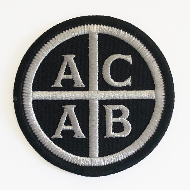 "Image of 2.5"" ACAB Patch"
