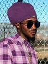 Jah Roots Stretch Hats (Purple)