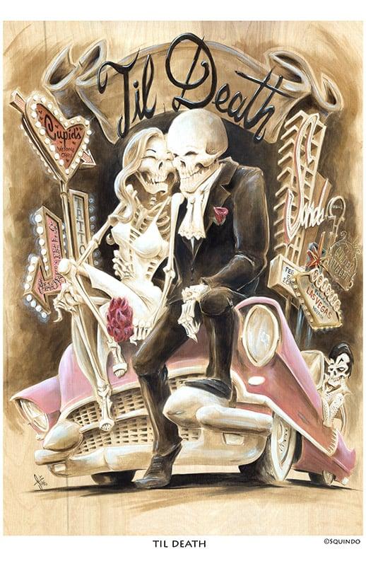 Image of Til Death Art Print