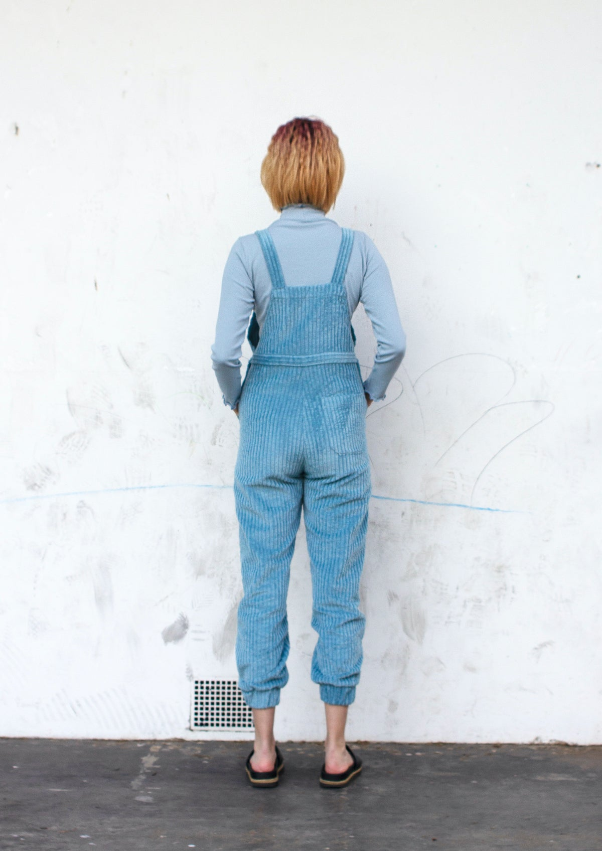 Image of Cord Overalls