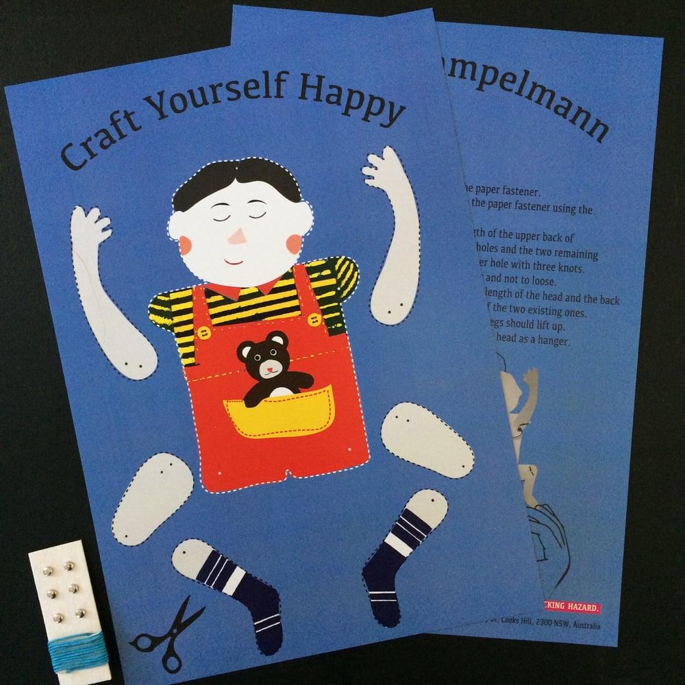 Boy Hampelmann DIY Kit