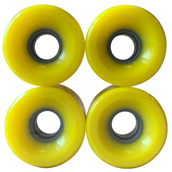 Image of Yellow Cruiser Wheels - 60mm 83A