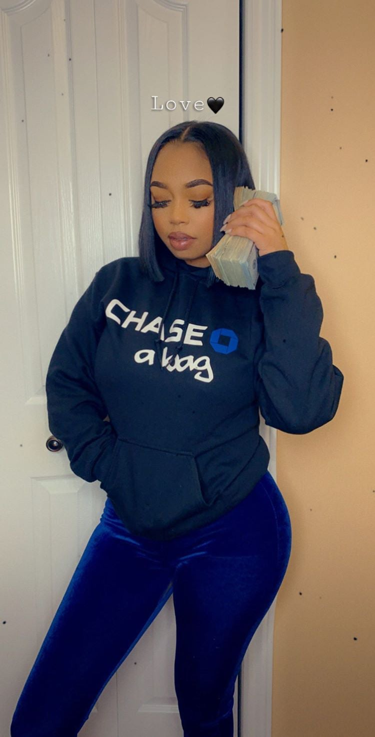 Image of CHASE A BAG  Hoodie