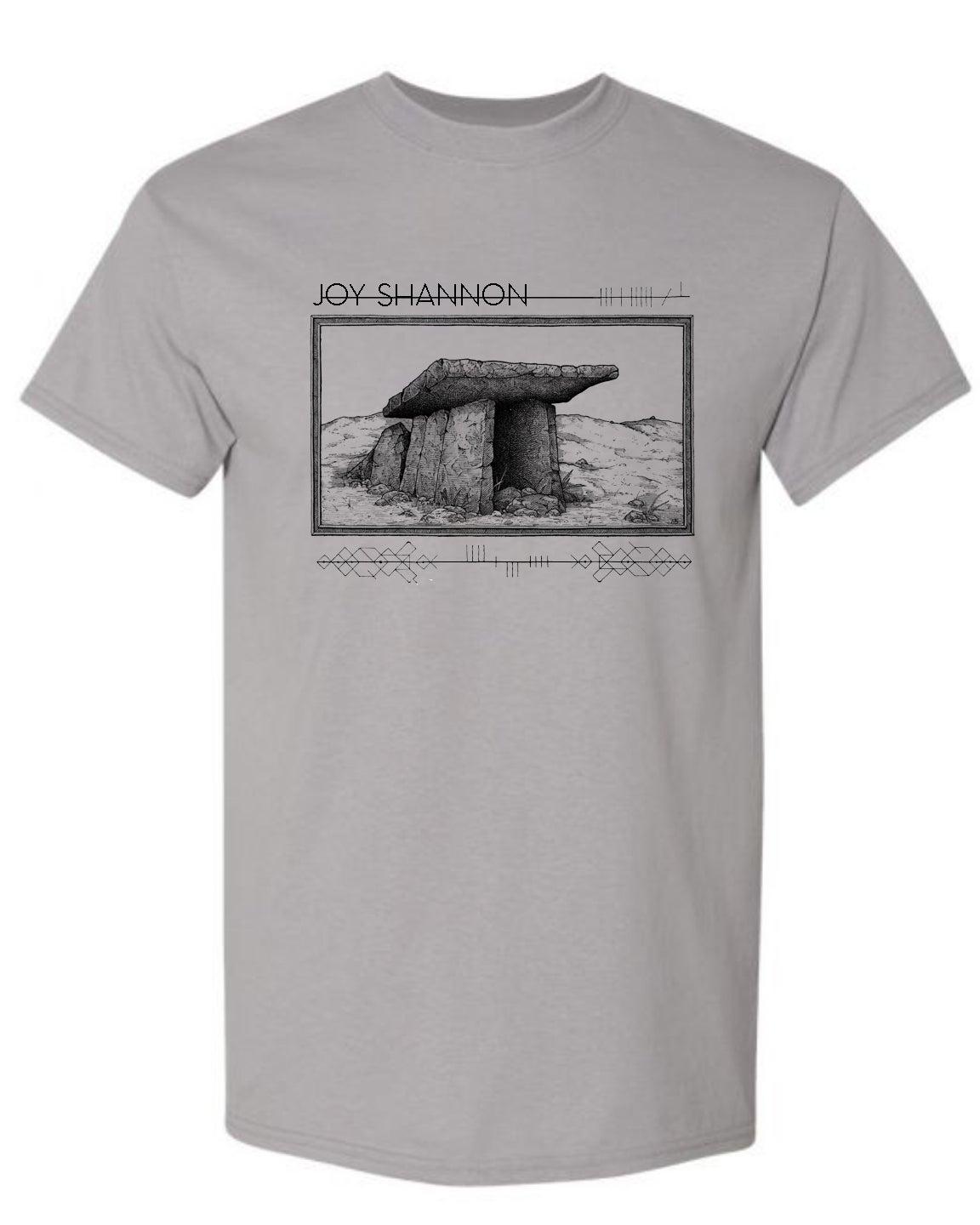 "Image of Joy Shannon ""Dolmen"" music shirt"