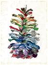 """Pine Cone"" • Art Print (18"" x 24"")"