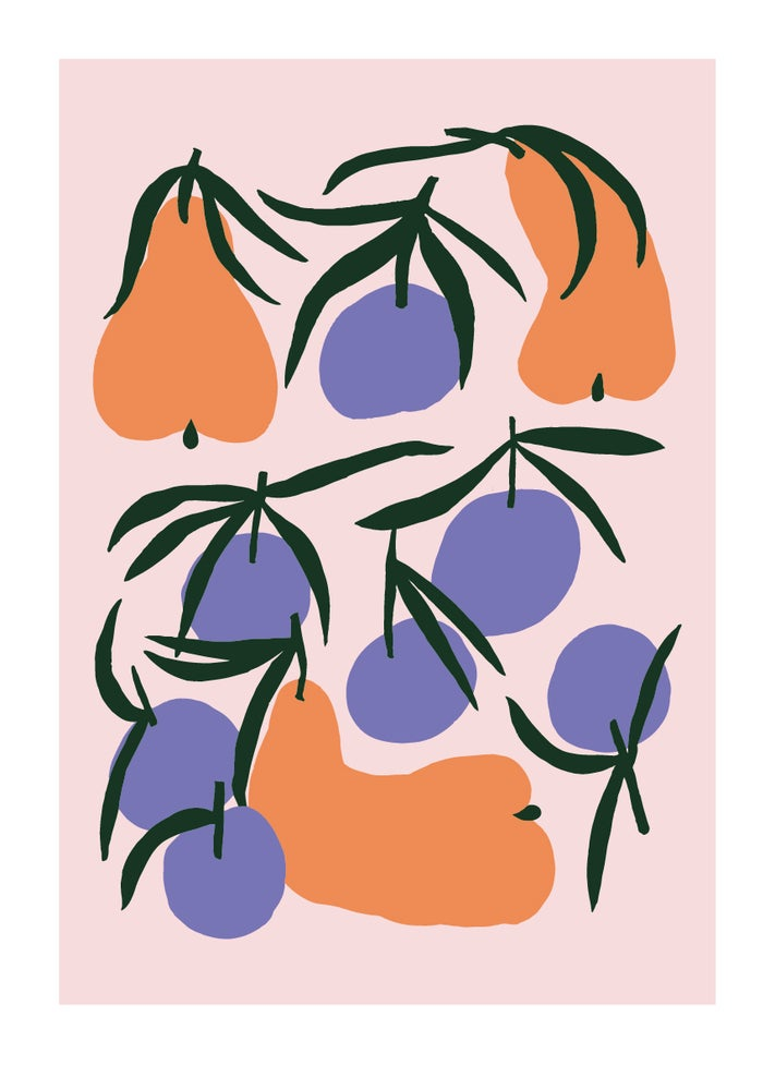 Image of Chilling with mandarins / A3