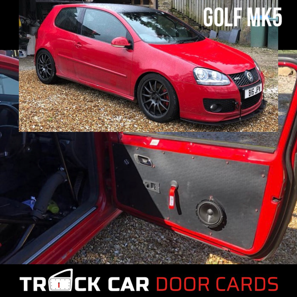 Image of Volkswagen MK5 Golf 3 door - Track Car Door Cards