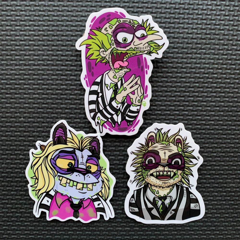Image of BeetlePanduh Sticker Set