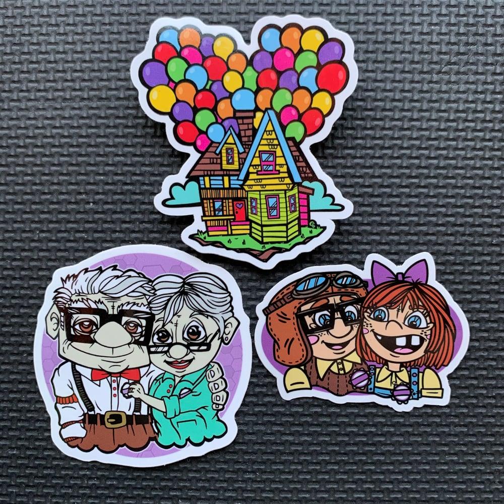 Image of UP Sticker Set