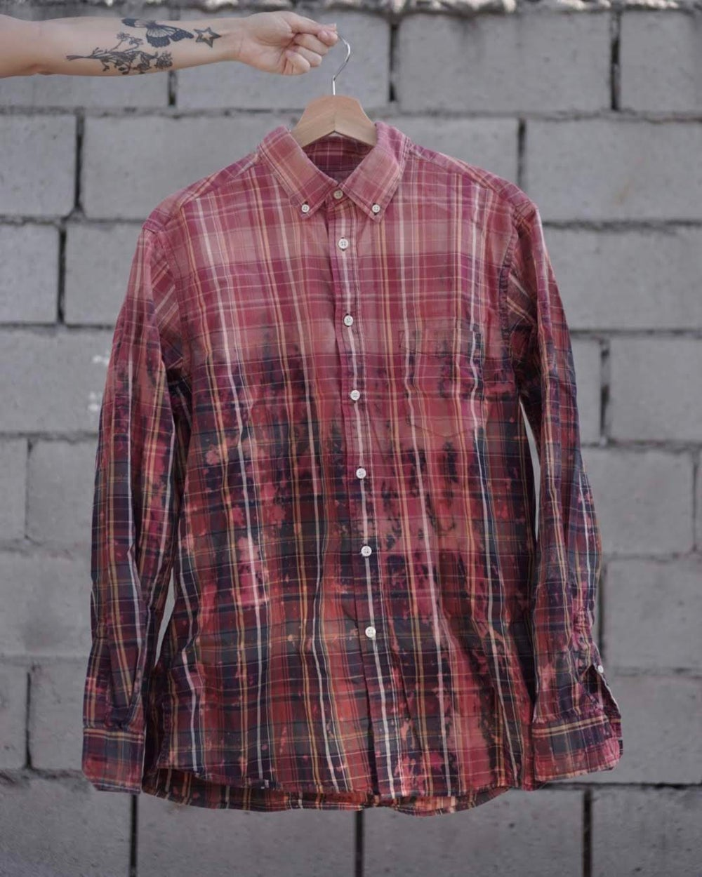 Image of christmas party flannel.