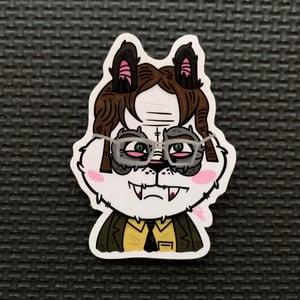 Image of Dwight Panduh Sticker