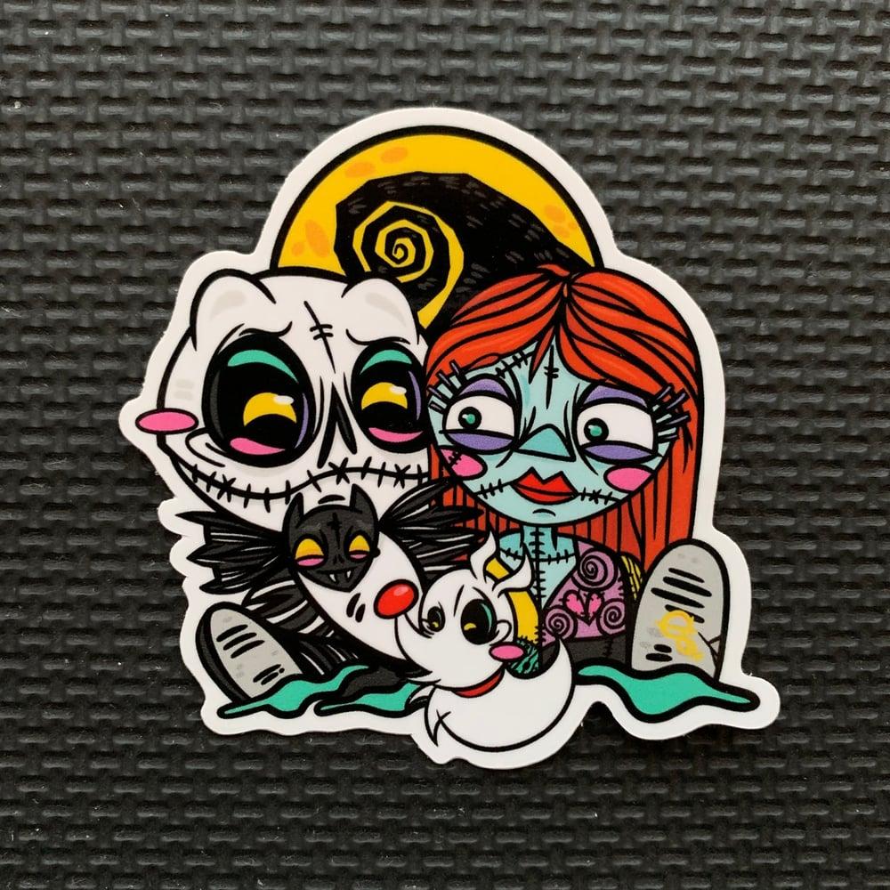 Image of NBC Trio Sticker