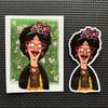 Frida Belcher Stickers