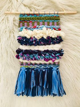 Into the Blue Weaving