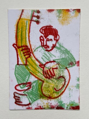 Image of Mono Print Postcards