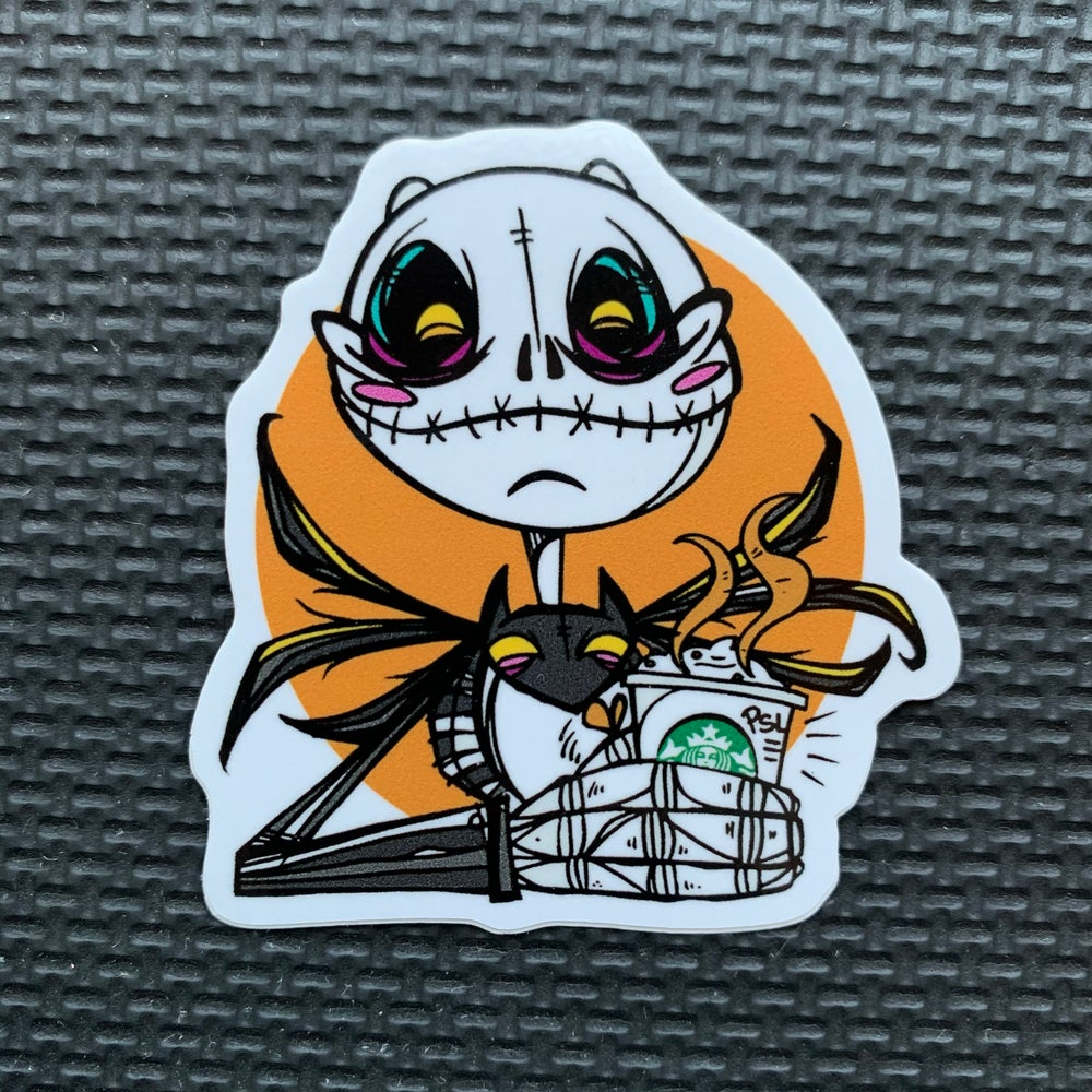 Image of Pumpkin King PSL Sticker