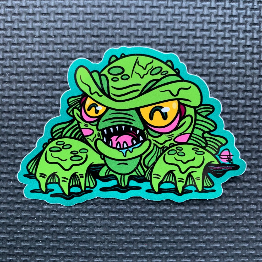 Image of Creature PeekaBOO Sticker