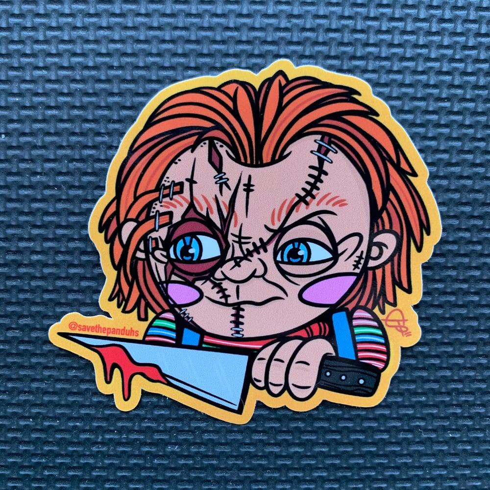 Image of Chucky PeekaBOO Sticker