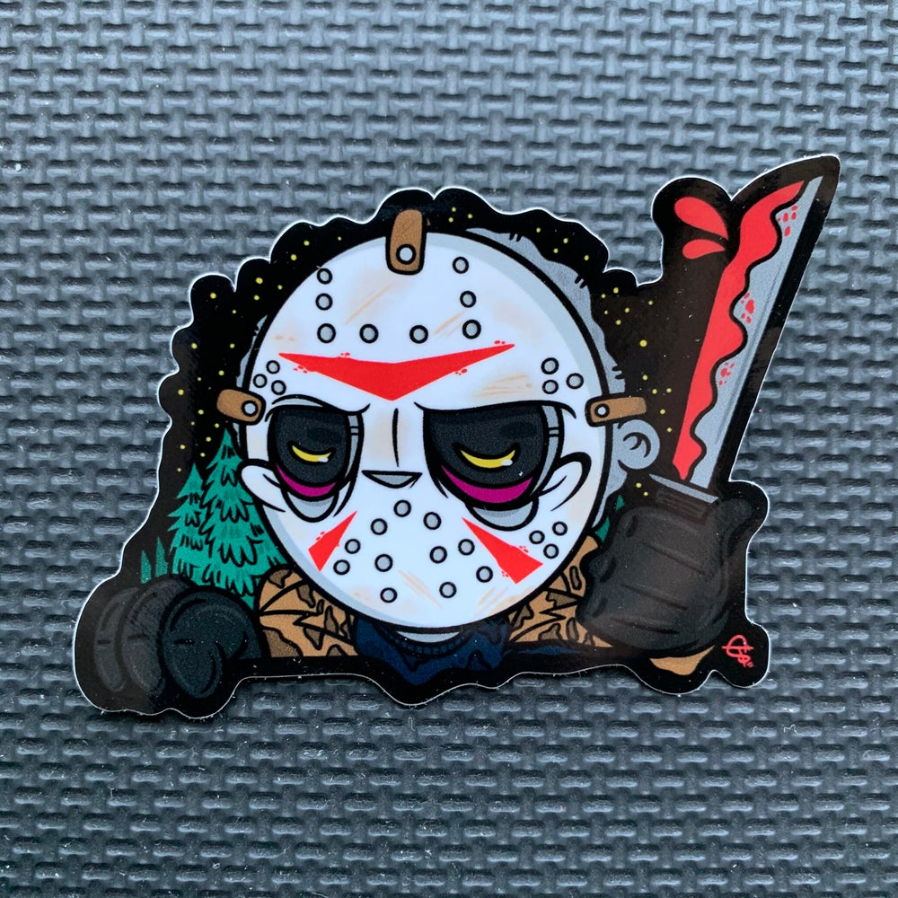 Image of Jason PeekaBOO Sticker