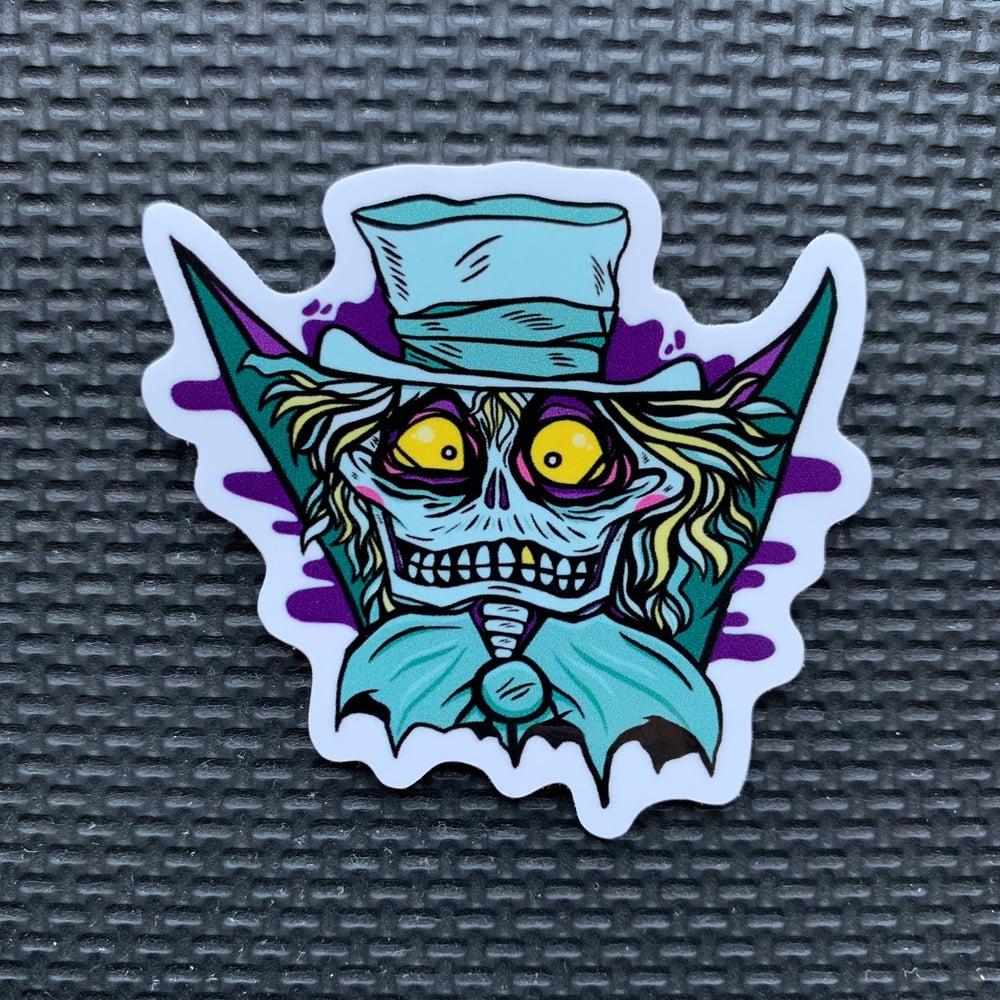 Image of Hatbox Ghost Sticker