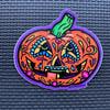 Pumpkin Sugar Skull Sticker
