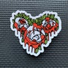 Roses Red Sticker