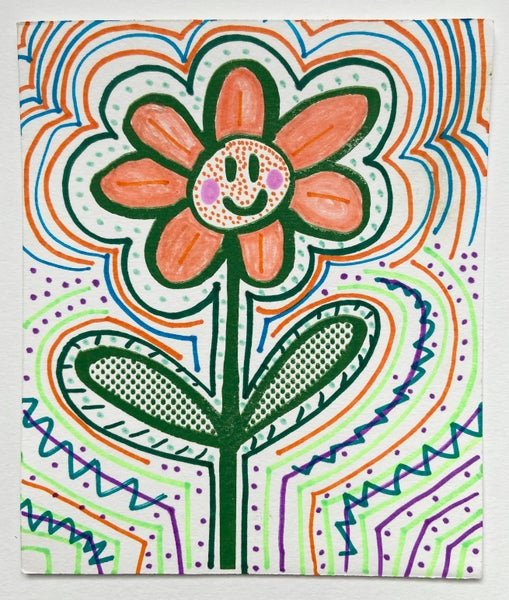Image of Happy Flower by Charlie Evaristo-Boyce