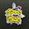 Sad Sponge Sticker