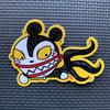 Scary Teddy Sticker