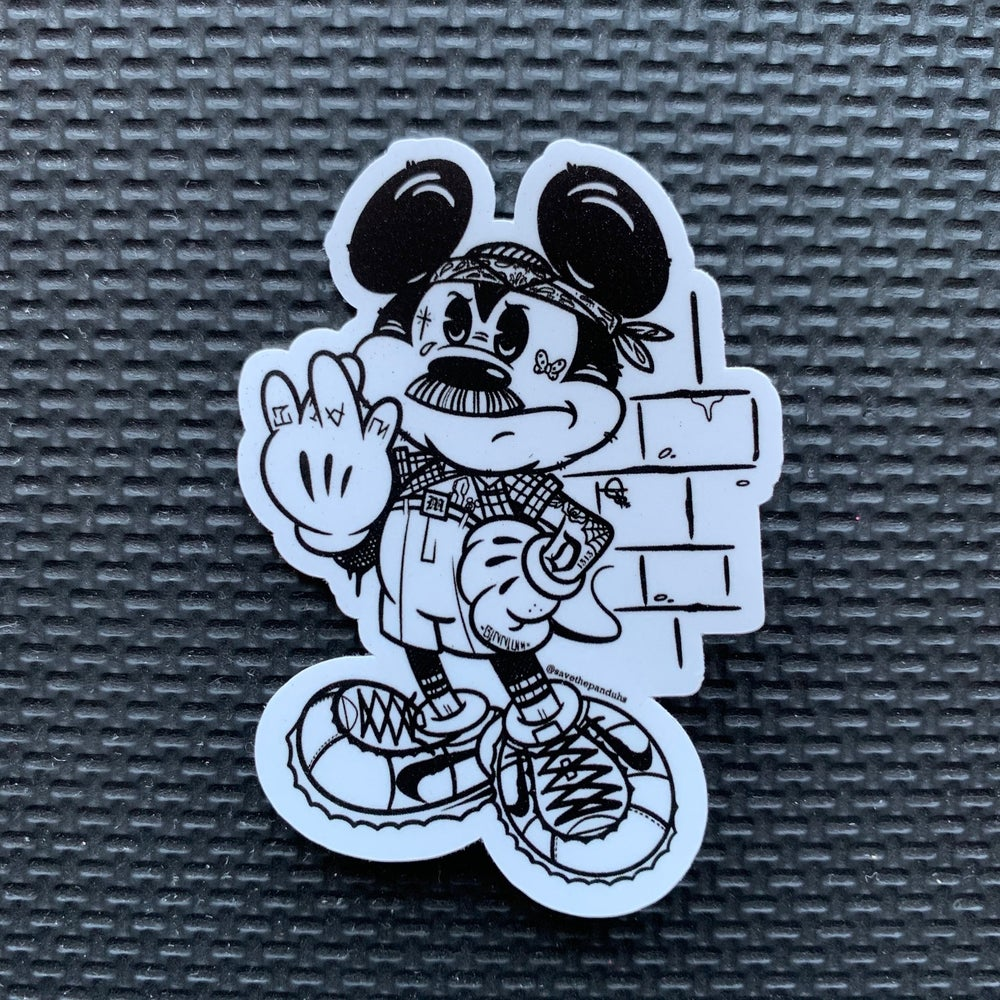 Image of Cholo Mickey Sticker