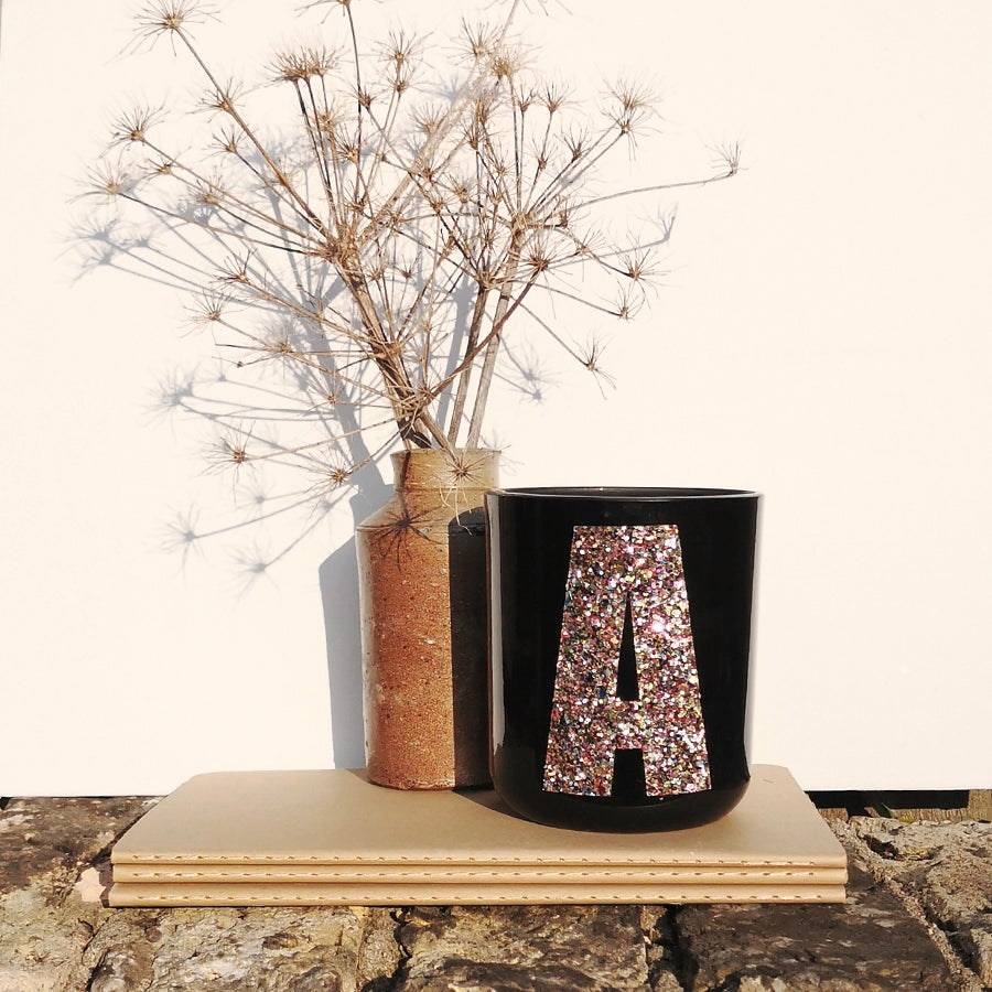 Image of CONTEMPORARY alphabet glitter stickers
