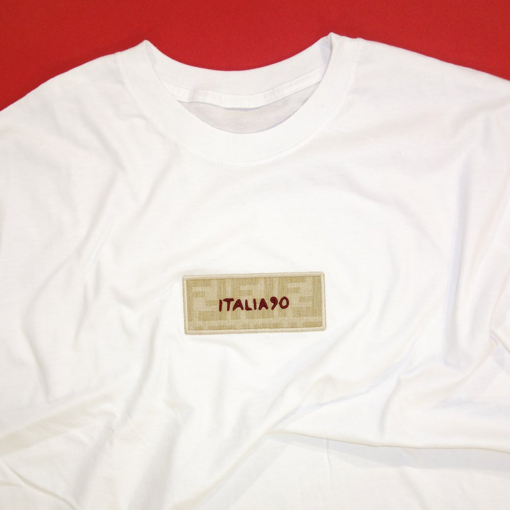 Image of Box Logo FF Custom T-shirt (white)