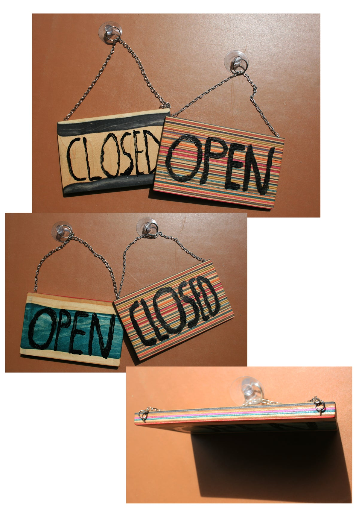 Open/Closed Schilder